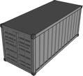 Container built using docker tool